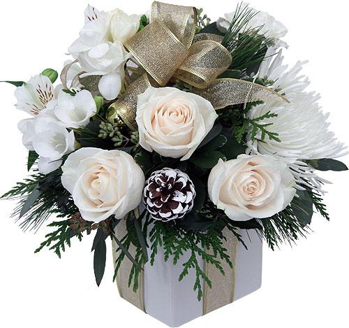 Occasions christmas christmas flowers christmas white gold christmas white gold send to philippines mightylinksfo