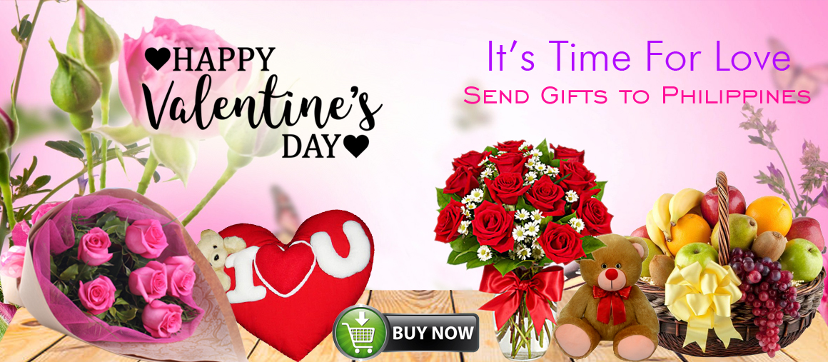 Send Valentines day gifts to philippines