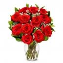 Rose in vase to Philippines