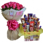 send flowers with chocolates