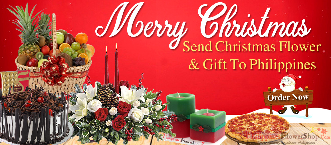 Send Christmas Flower and Gift to Philippines