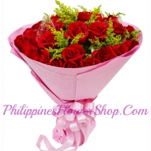 send one thousand love 24 red roses to philippines