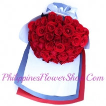 send 24 red roses to philippines