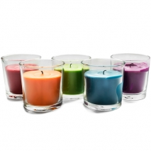 send 5 candle filled glass holder to philippines