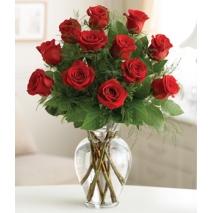 Premium Dozen Red Roses Send To Philippines