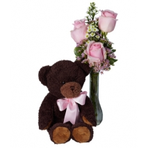 Beary Pink for You Send To Philippines