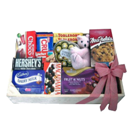 Chocolate & Biscuit Crate to Philippines