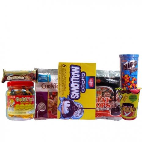Chocolate Snack Arrangement