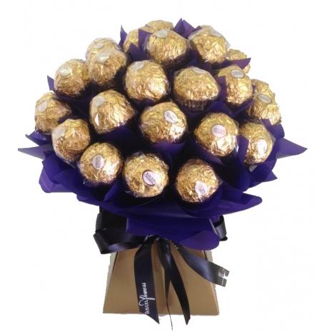 24 Ferrero Chocolates in Bouquet