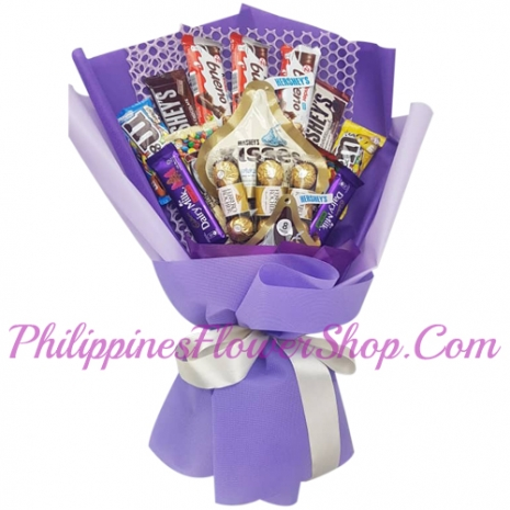 send sweet love chocolate bouquet to philippines