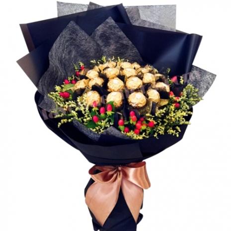 16 Pcs. Ferrero Chocolate in Bouquet