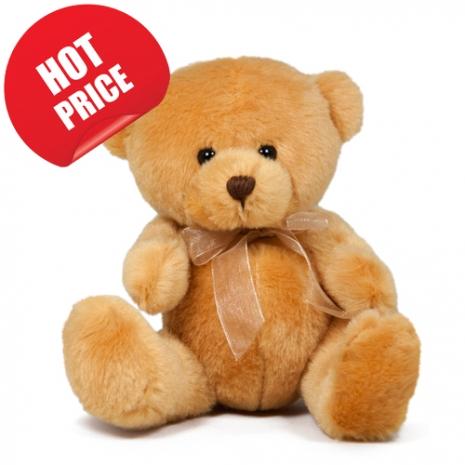"8"" Cute Brown Teddy Bear"