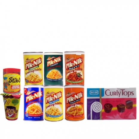 Pik-Nik Snack Arrangement