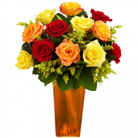 Halloween Rose Treat in a Vase to Philippines