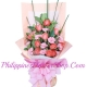 send 12 orange roses and 6 pink carnations to philippines