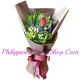 send classic single long-stem red rose to philippines
