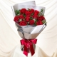 send bloom in love - a bouquet of 12 red roses to manila